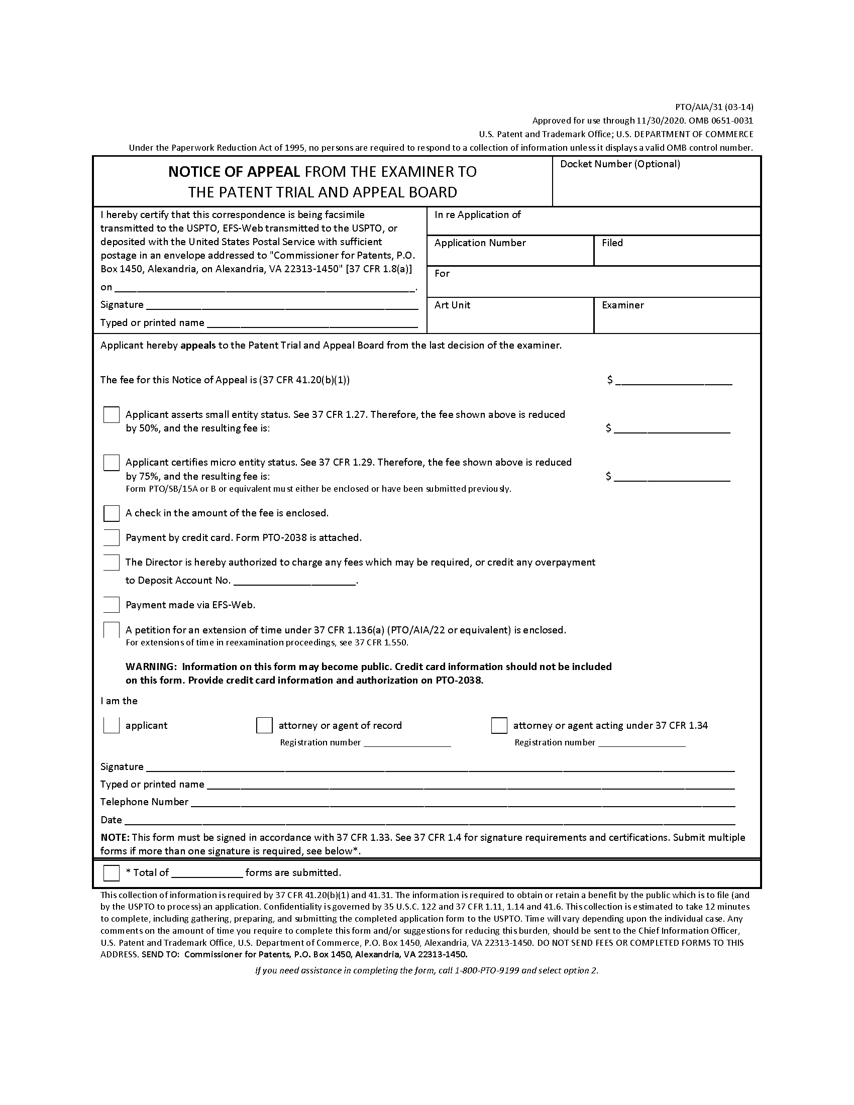 Mpep 1204 Notice Of Appeal Jan 2018 Bitlaw