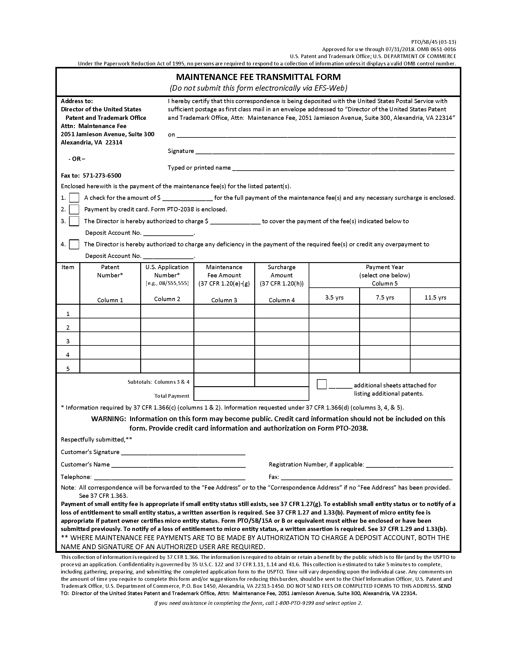 Mpep 2595 Forms Jan 2018 Bitlaw